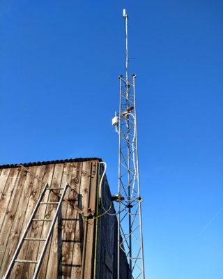 Remote-Location-Scotland_Outdoor-4G-Router_Pole