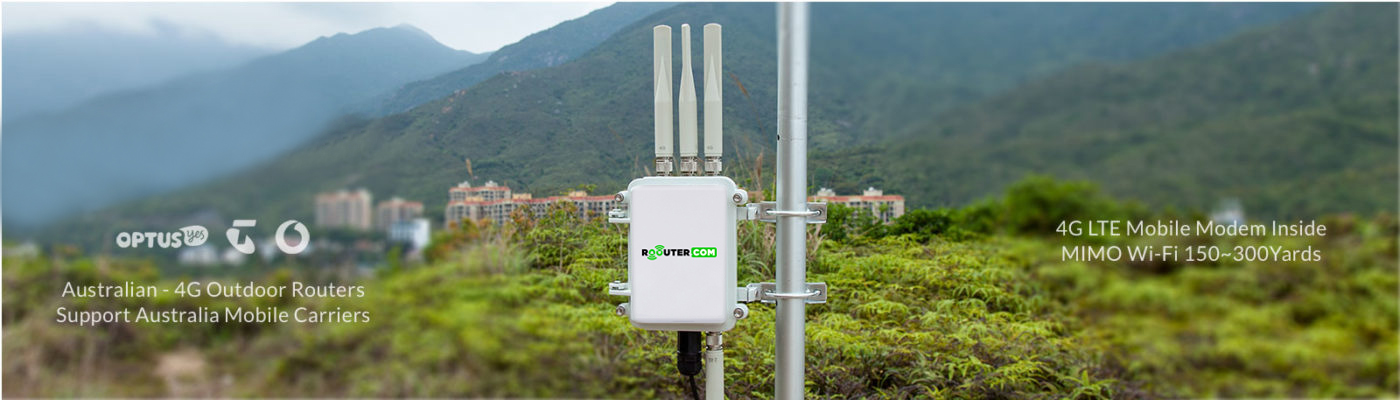 Outdoor- router-4G- WIFI