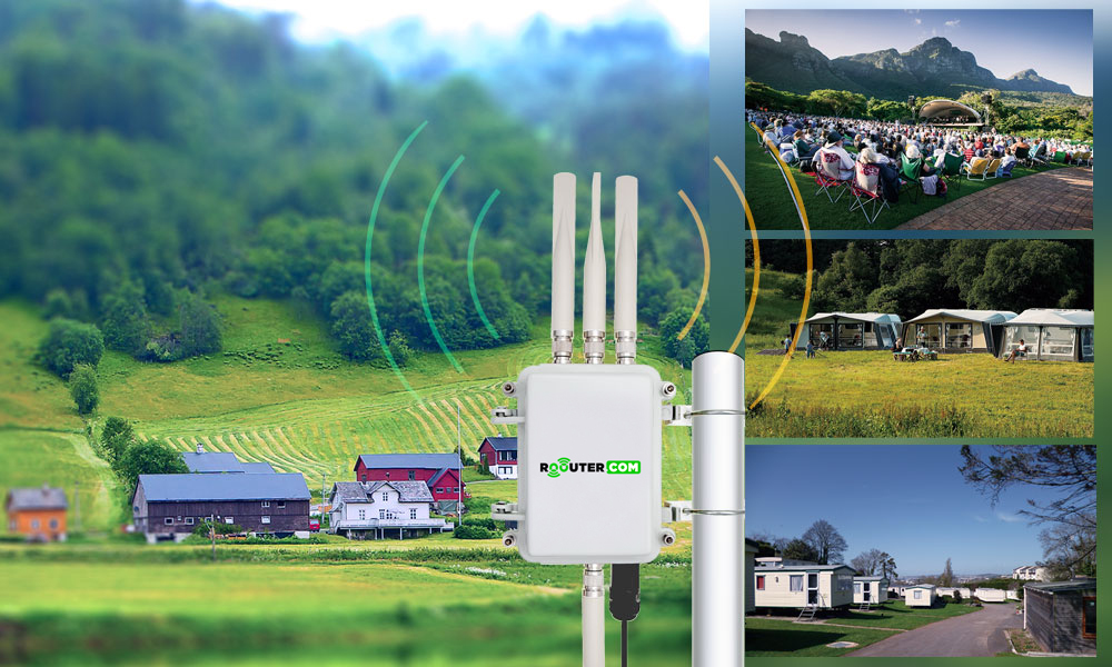 Outdoor router wifi 4G,